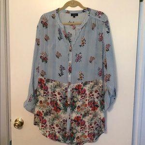 Tolani floral tunic